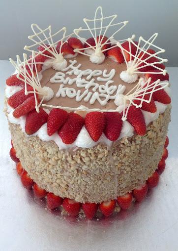 Elegant Birthday Cake | mackenziedowns