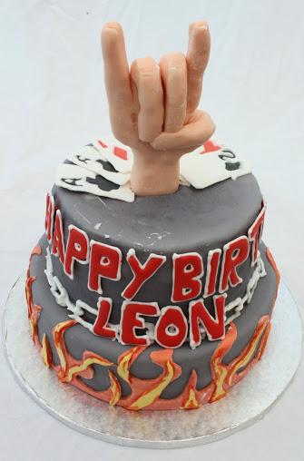 Awe Inspiring Heavy Metal Birthday Cake The Worlds Best Funny Birthday Cards Online Overcheapnameinfo