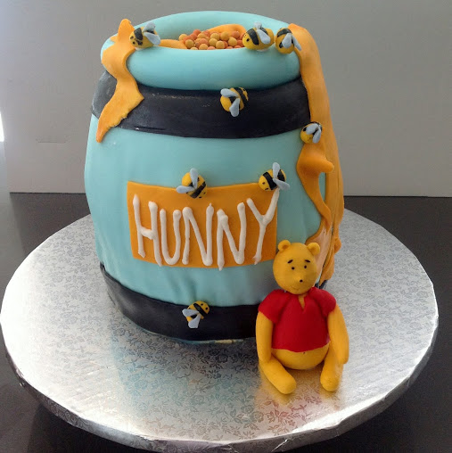 WinniethePooh Honey Pot 3D Birthday Cake The Worlds Best