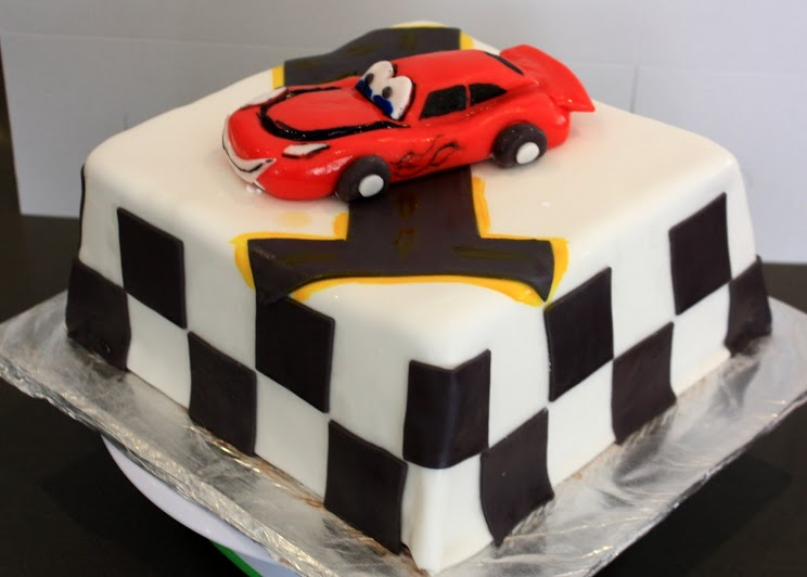 Cars Birthday Cake The Worlds Best